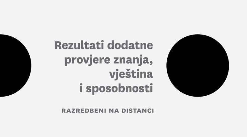 Rezultati 1 2 I 3 Selekcije Razredbenog Postupka Sveuciliste U Zagrebu Arhitektonski Fakultet Studij Dizajna
