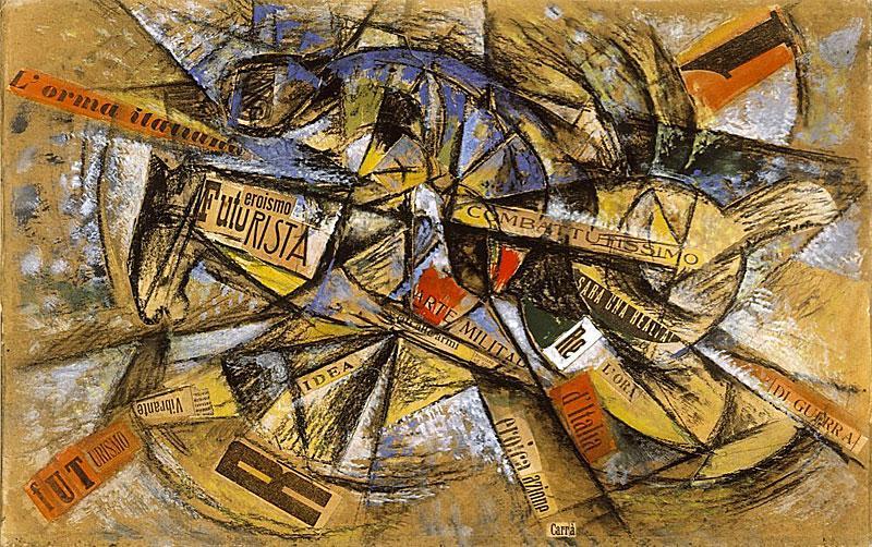 Futurizam, dinamizam i boja –izložba u Muzeju suvremene umjetnosti