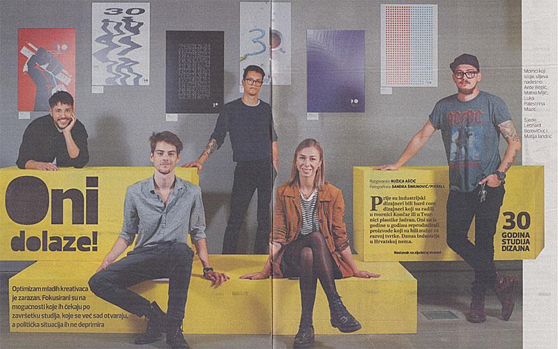 Studij dizajna predstavljen u tjedniku Express