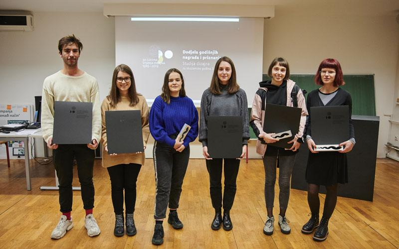 Proglasene Nagrade I Priznanja Studija Dizajna Za Akademsku Godinu 2018 2019 Sveuciliste U Zagrebu Arhitektonski Fakultet Studij Dizajna