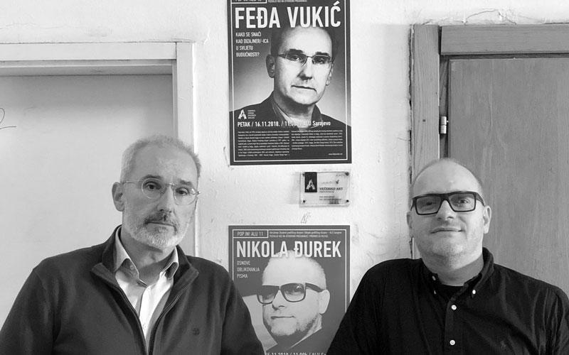 Fedja Vukić i Nikola Đurek u Sarajevu