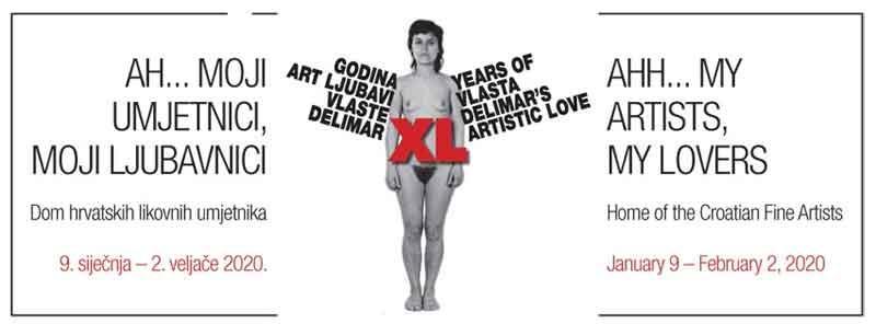 40 godina art ljubavi Vlaste Delimar